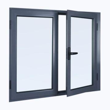 Casement opening (Hinged window)